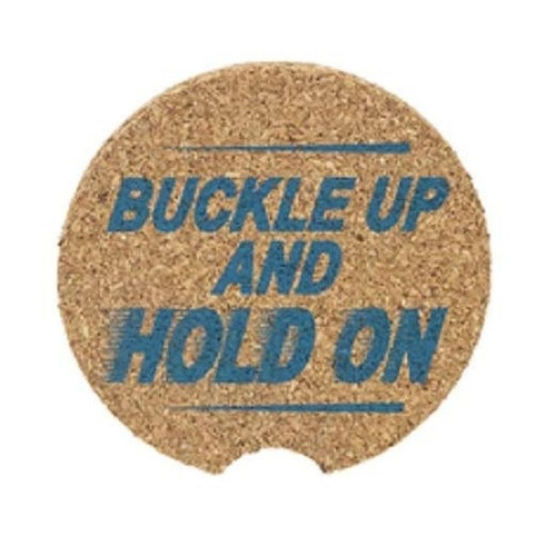 Ganz Car Coaster, Blue, Buckle Up and Hold On