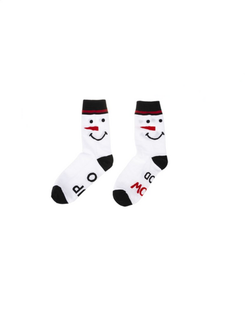 Ganz Holiday Read My Feet Sock, Snowman