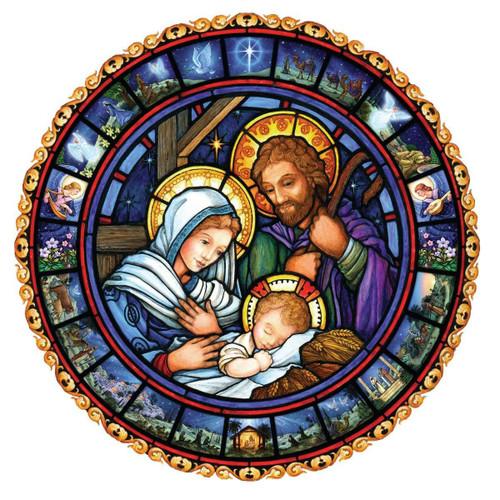 Vermont Christmas Company Jumbo Advent Calendar, Holy Family
