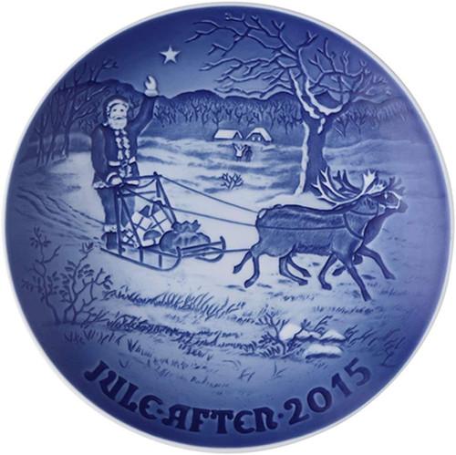 Bing & Grondahl 2015 Christmas Plate