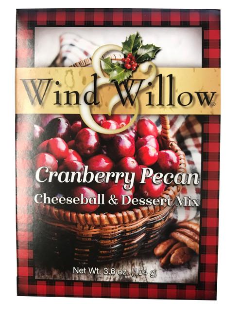 Wind & Willow Cheeseball & Dessert Mix, Cranberry Pecan