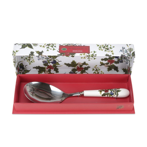 Portmeirion Holly & Ivy Serving Spoon