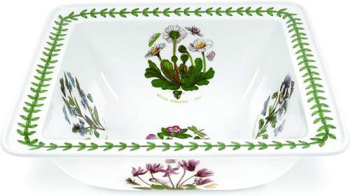"Portmeirion Botanic Garden 10.5"" Square Salad Bowl"