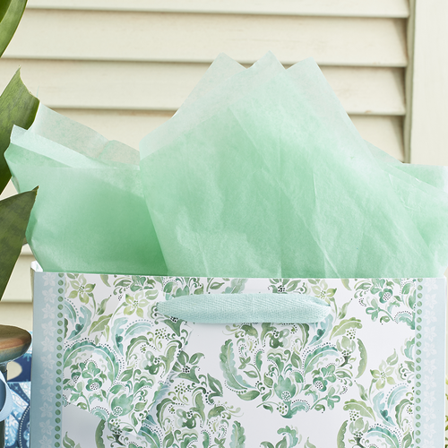 The Gift Wrap Company Solid Gift Tissue, Celadon