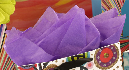 The Gift Wrap Company Solid Gift Tissue, Purple