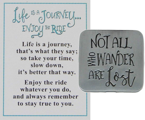 "Ganz ""Life is a Journey, Enjoy the Ride"" Charm, Ride On"