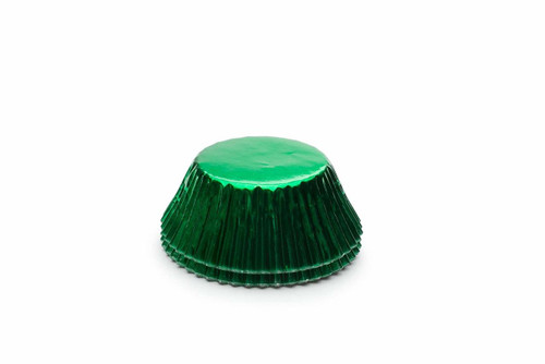 Fox Run Green Foil Bake Cups, 32 Cups (6980)