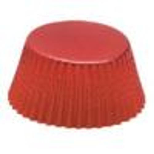 Fox Run Red Foil Bake Cups, Petit Four, 48 Cups (6957)