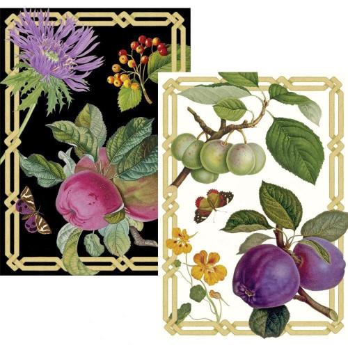 Caspari Boxed Note Cards, Découpage Garden, Box of 8 (86628.46)