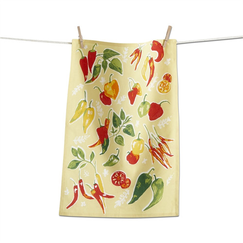 TAG Chilli Peppers Dishtowel