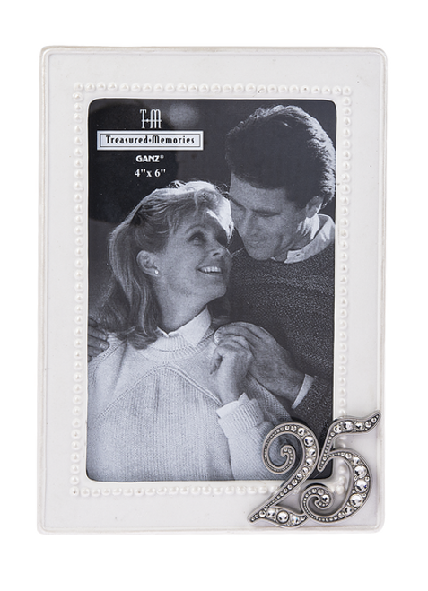 Ganz 25th Anniversary Picture Frame