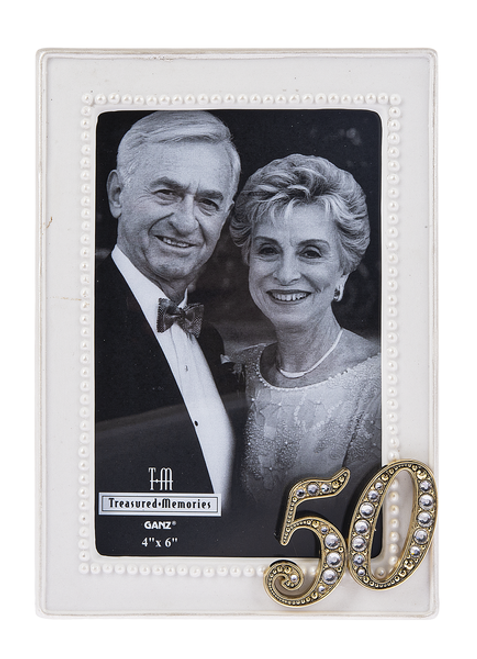 Ganz 50th Anniversary Picture Frame