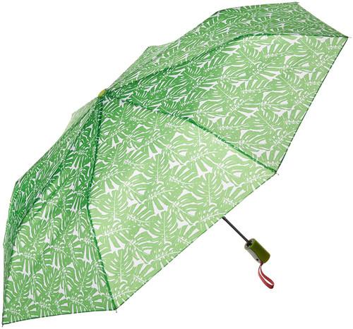 DM Merchandising Sage & Emily Sage and Emily Compact Umbrella, Palm Leaves (UMBSG-PLM)