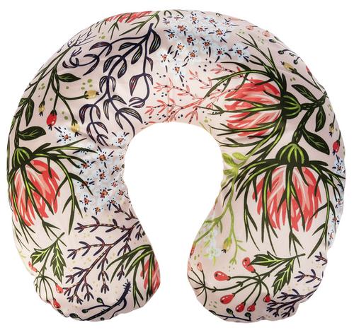 Ganz Inflatable Neck Pillows, Peach Plant