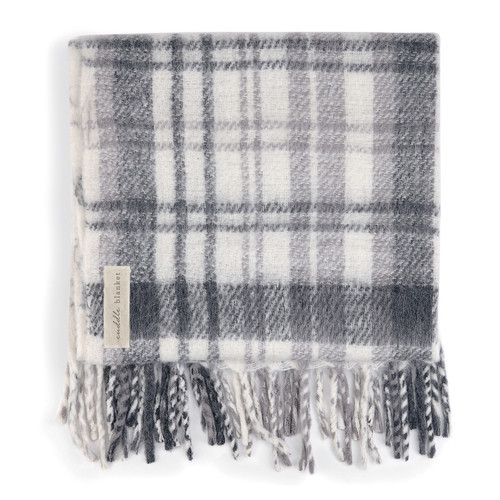 Demdaco Cuddle Blanket, Gray