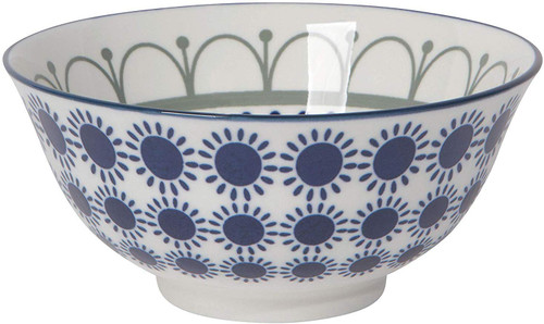 Now Designs 6inch Black Navy Sun Dining Bowl (5142014)