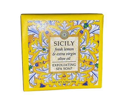 Greenwich Bay Trading 6.35oz Bar Soap, Sicily