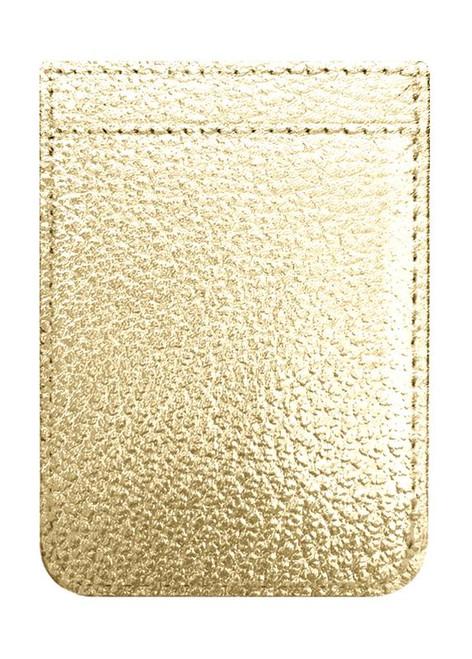 iDecoz Phone Pocket, Gold Leather
