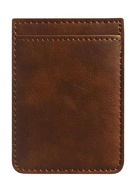 iDecoz Phone Pocket, Brown Leather