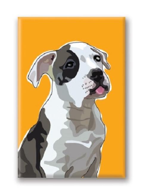 Paper Russells American Bulldog Fridge Magnet