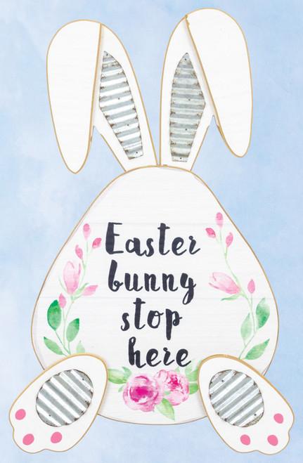 Hanna's Handiworks 'Easter Bunny Stops Here' Hanger