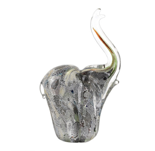 "Badash Murano Style Art Glass 6.5"" Elephant (J576)"