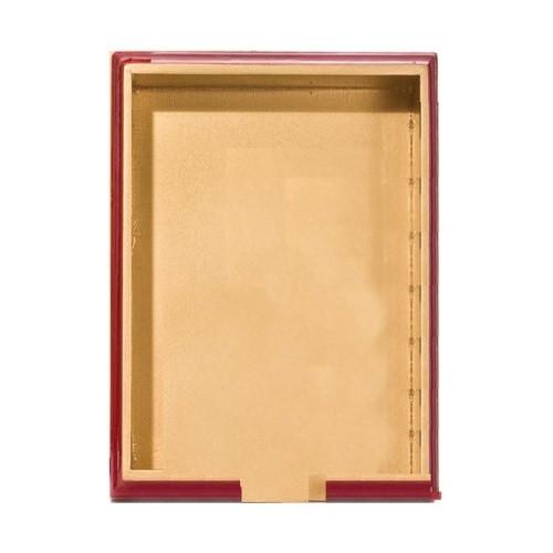 Michel Design Works Hostess Napkin Holder, Red and Gold