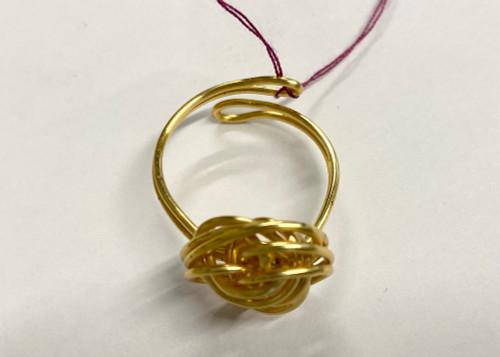 Village Designs Springerlee Mattie Ring