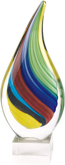 Badash Rainbow Teardrop Sculpture