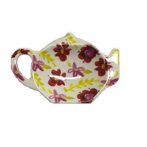 TAG Fresh Flowers Tea Bag Holder, Flower