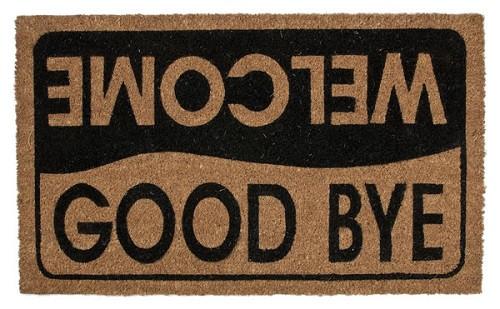 Ganz Welcome and Goodbye Doormat