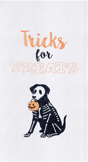 C&F Enterprises Tricks for Treats Kitchen Towel