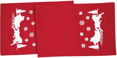 C&F Enterprises Sleigh Ride Table Runner