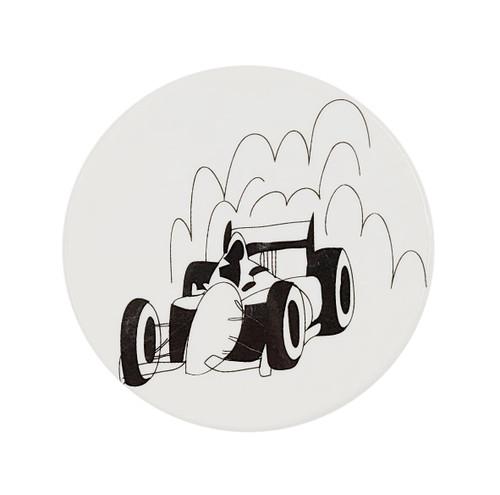 "The Dish ""Switchit"" Plaque, Race Car"