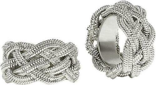 Ganz Braided Chain Ring