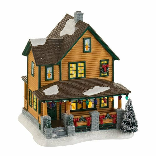 Department 56 A Christmas Story, Ralphie's House