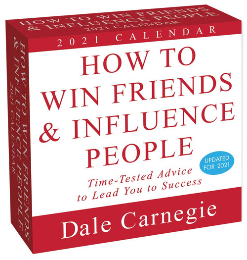 Simon & Schuster - How To Win Friends and Influence People 2021 Calendar