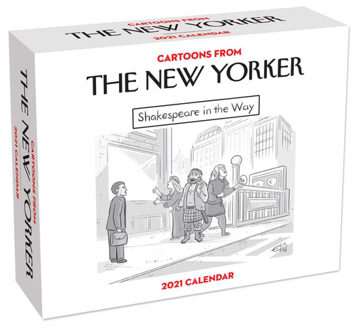 Simon & Schuster Cartoons From the New Yorker 2021 Day-to-Day Calendar