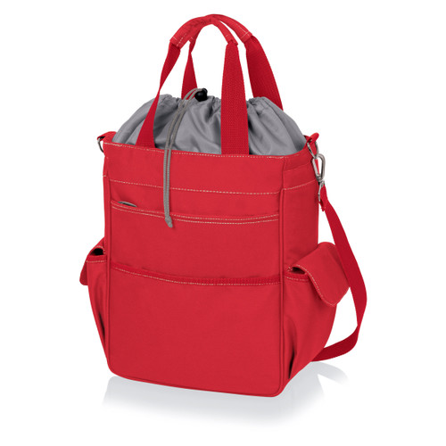 Picnic Time Activo Insulated Tote Bag, Red
