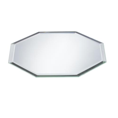 """Ganz 6"""" Octagon Beveled Mirror"""