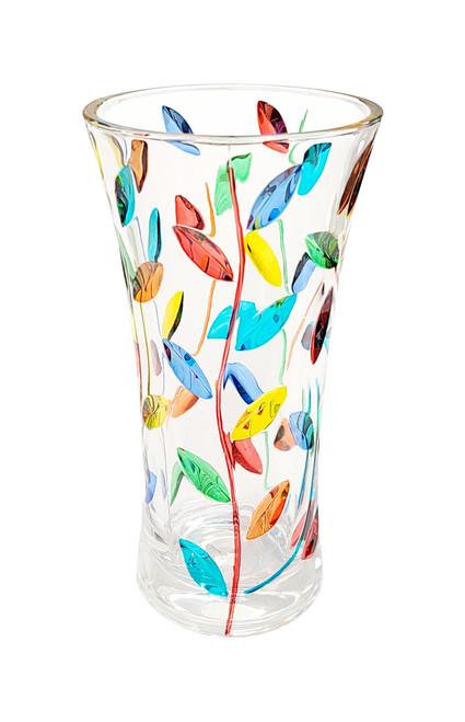 "Gage 10"" Tree of Life Vase, Multi-color"