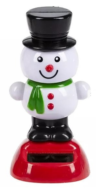 Ganz Holiday Frolickers, Snowman