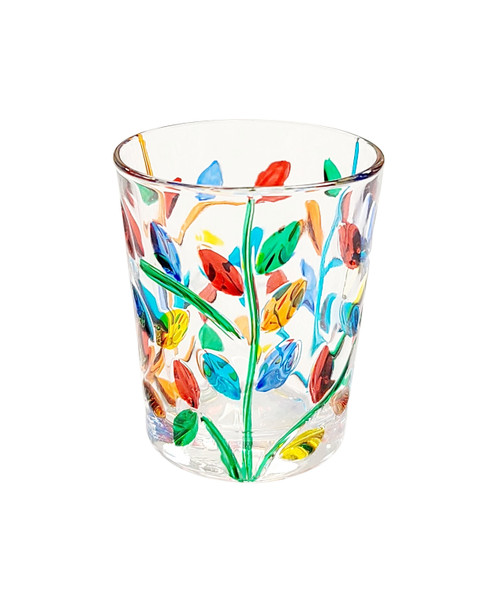 Gage Tree of Life Shot Glass, Multi-color