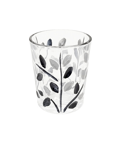 Gage Tree of Life Shot Glass, Black/Silver