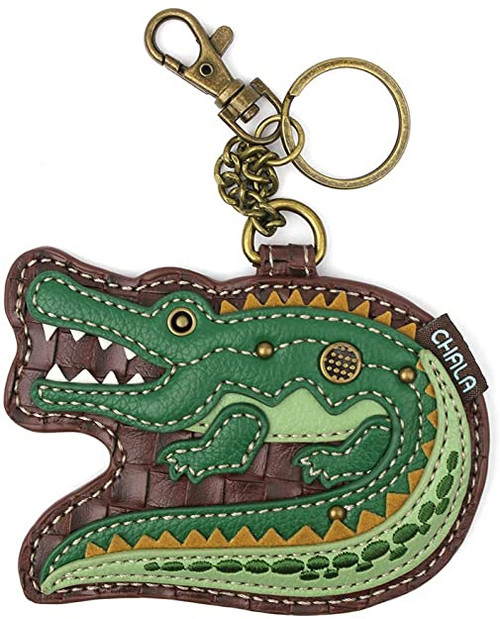 Chala Coin Purse/Key Fob Bag, Alligator