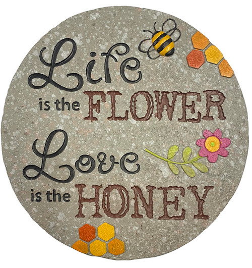 Ganz Bee Stepping Stone, Life is The Flower