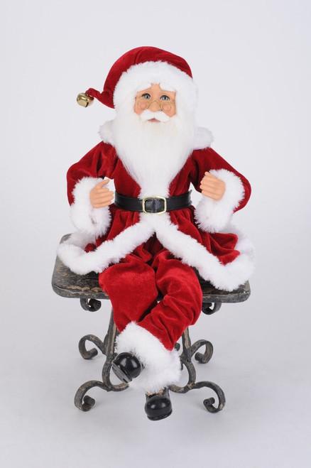 Karen Didion Traditional Poseable Santa