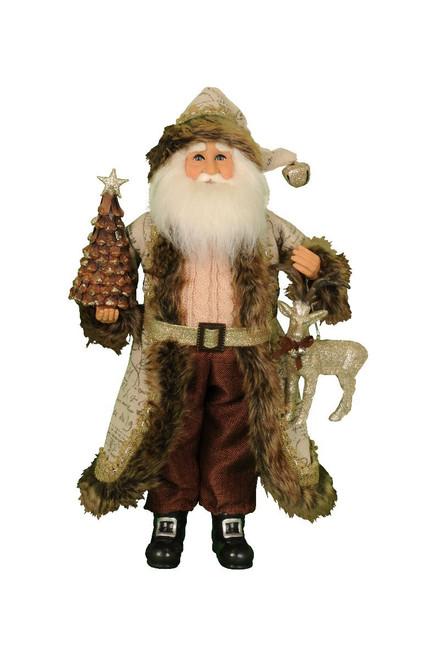 Karen Didion Woodland Glimmer Santa
