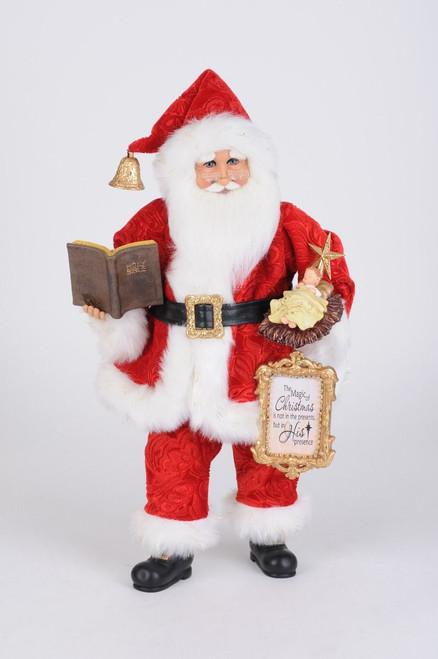 Karen Didion Baby Jesus Santa