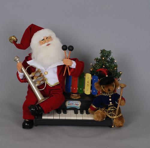 Karen Didion Lighted Music Santa